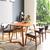 Bộ bàn ăn 6 ghế Kai màu tự nhiên 1m6- đẹp, giá rẻ tại hcm và hà nội