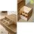 Tủ ngăn kéo Begonia 6 hộc gỗ cao su (có gương trang điểm)- đẹp, giá rẻ tại hcm và hà nội
