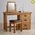 Bộ bàn trang điểm Original Rustic gỗ sồi Mỹ- đẹp, giá rẻ tại hcm và hà nội
