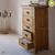 Tủ 5 ngăn kéo 5 tầng Original Rustic gỗ sồi Mỹ- đẹp, giá rẻ tại hcm và hà nội