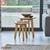 Bộ bàn xếp lồng Spot gỗ sồi- đẹp, giá rẻ tại hcm và hà nội