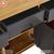 Tủ chén Spot 3 cánh 3 ngăn kéo gỗ sồi Mỹ- đẹp, giá rẻ tại hcm và hà nội