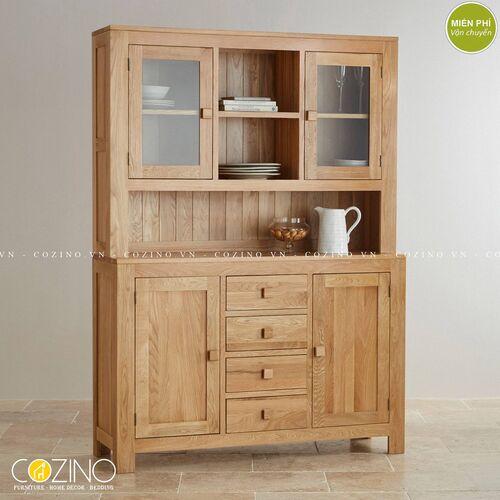 Tủ bếp lưu trữ đa năng caoCapri 1m4 đẹp giá rẻ