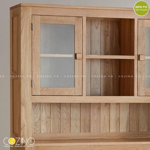 Tủ lưu trữ đa năng cao Capri gỗ sồi 1m4 tại hà nội