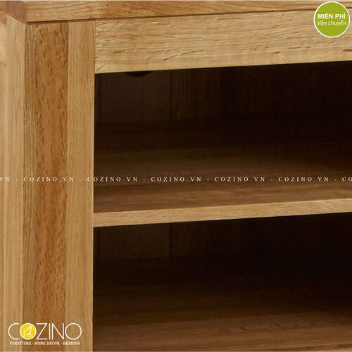 Tủ Tivi Capri 1 cánh 2 ngăn gỗ sồi 1m tại hà nội