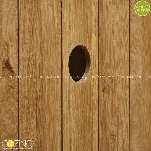 Tủ Tivi góc Holy gỗ sồi tại hà nội