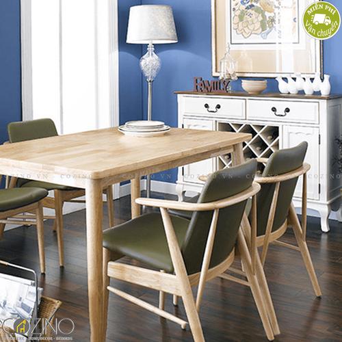 Bộ bàn ăn 6 ghế Babie nhiều 1m6- đẹp, giá rẻ tại hcm và hà nội
