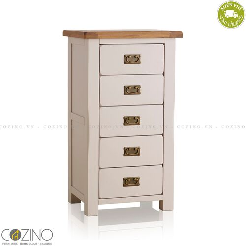 Tủ 5 ngăn kéo 5 tầng Sintra gỗ sồi Mỹ- đẹp, giá rẻ tại hcm và hà nội