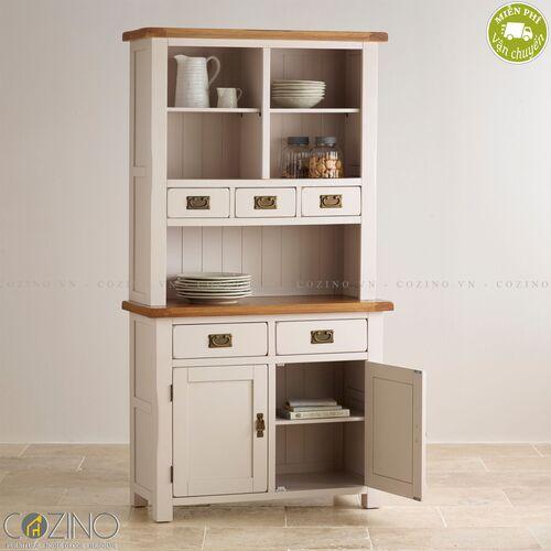 Tủ bếp nhỏ Sintra gỗ sồi Mỹ- đẹp, giá rẻ tại hcm và hà nội