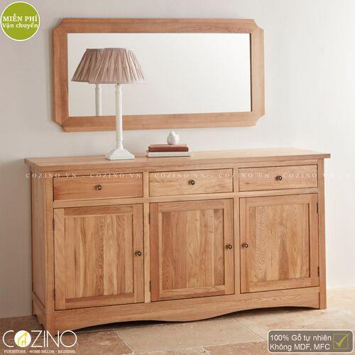 Gương treo tường Cawood gỗ sồi Mỹ- đẹp, giá rẻ tại hcm và hà nội