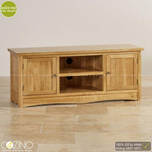 Tủ tivi lớn Cawood gỗ sồi Mỹ- đẹp, giá rẻ tại hcm và hà nội
