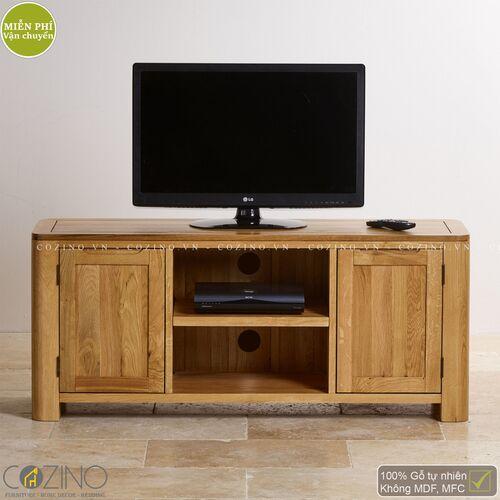 Tủ tivi Emley lớn gỗ sồi Mỹ- đẹp, giá rẻ tại hcm và hà nội