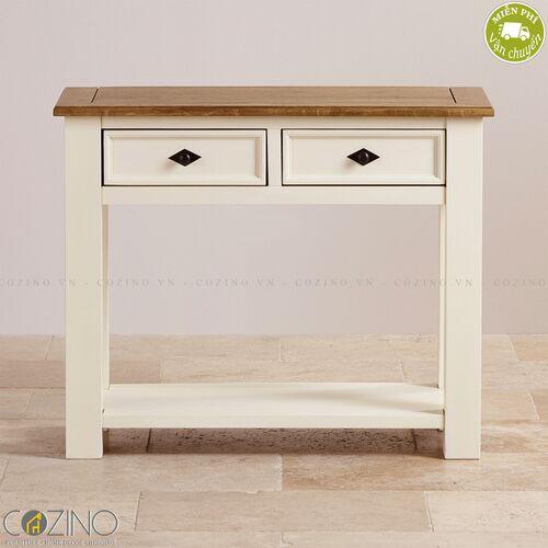 Bàn Console Chillon gỗ sồi Mỹ- đẹp, giá rẻ tại hcm và hà nội