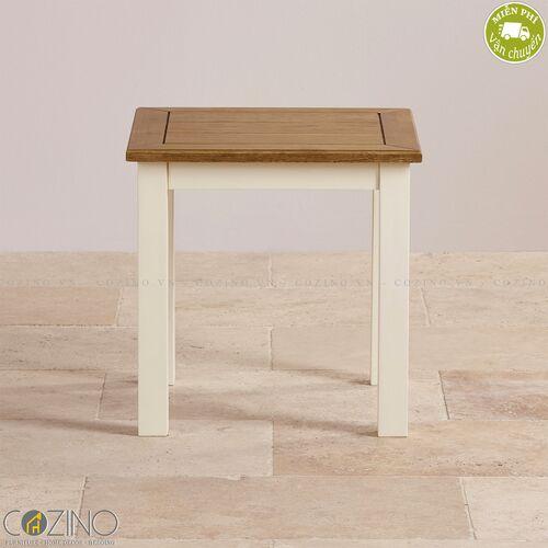 Bàn góc Chillon 100% gỗ sồi Mỹ- đẹp, giá rẻ tại hcm và hà nội