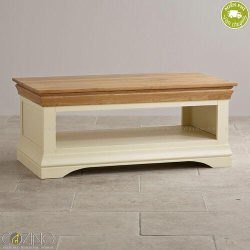 Bàn sofa Canary gỗ sồi Mỹ- đẹp, giá rẻ tại hcm và hà nội
