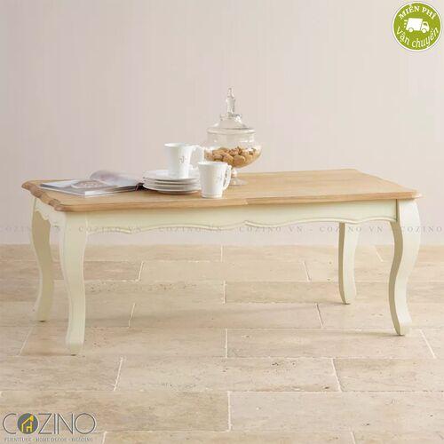 Bàn sofa Skye 100% gỗ sồi- đẹp, giá rẻ tại hcm và hà nội
