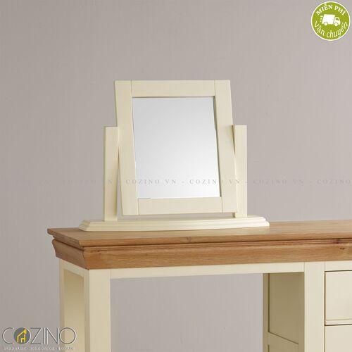 Gương để bàn Canary gỗ sồi Mỹ- đẹp, giá rẻ tại hcm và hà nội