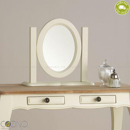 Gương để bàn Skye 100% gỗ sồi Mỹ- đẹp, giá rẻ tại hcm và hà nội
