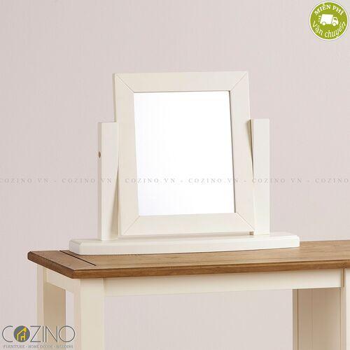 Gương để bàn Chillon gỗ sồi Mỹ- đẹp, giá rẻ tại hcm và hà nội