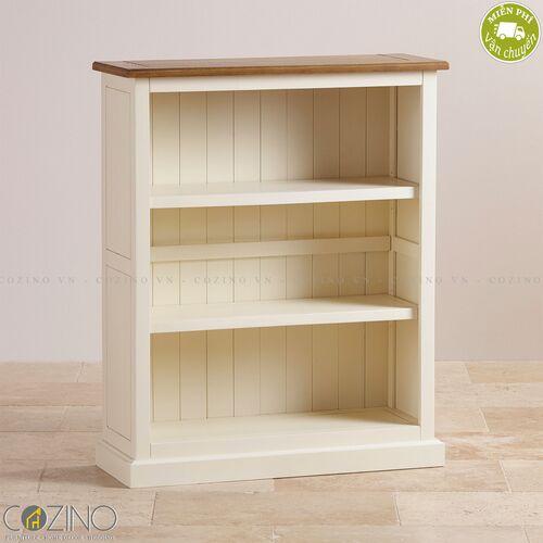 Tủ kệ sách và trưng bày thấp Chillon gỗ sồi Mỹ- đẹp, giá rẻ tại hcm và hà nội