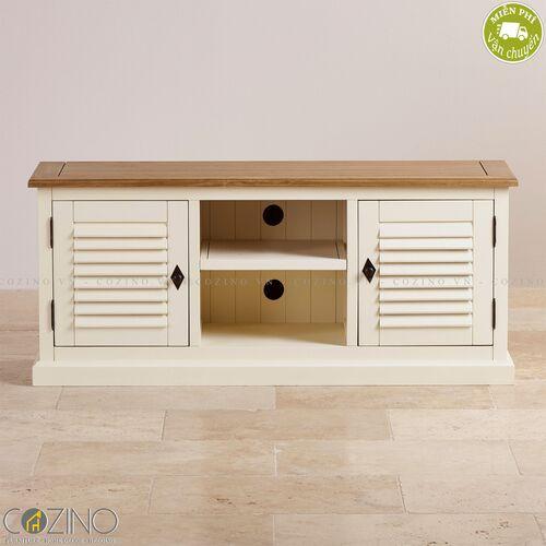 Tủ tivi lớn Chillon gỗ sồi Mỹ- đẹp, giá rẻ tại hcm và hà nội