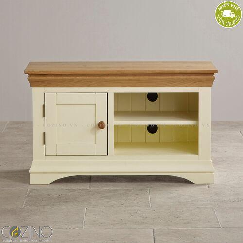 Tủ tivi nhỏ Canary gỗ sồi Mỹ- đẹp, giá rẻ tại hcm và hà nội