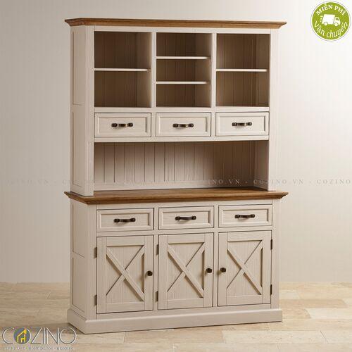 Tủ bếp Sark loại lớn gỗ sồi Mỹ- đẹp, giá rẻ tại hcm và hà nội