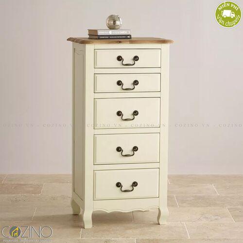 Tủ 5 ngăn kéo 5 tầng Skye gỗ sồi Mỹ- đẹp, giá rẻ tại hcm và hà nội