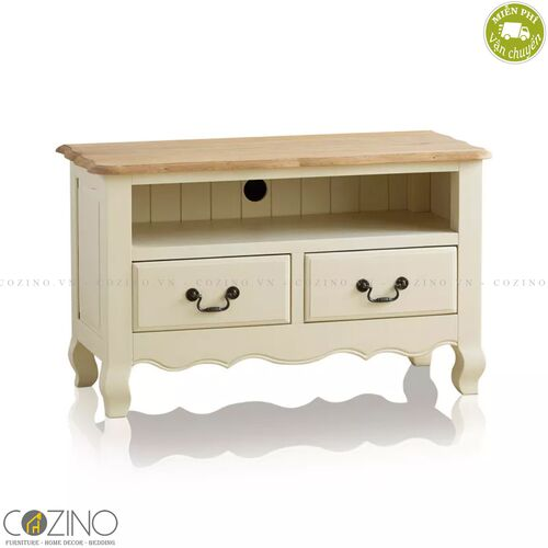 Tủ tivi nhỏ Skye gỗ sồi Mỹ- đẹp, giá rẻ tại hcm và hà nội