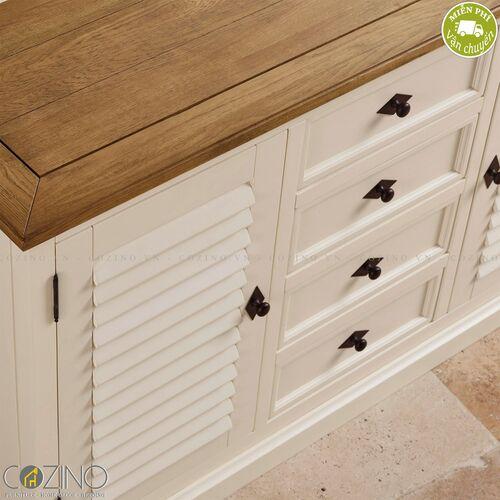 Tủ bếp lớn Chillon gỗ sồi Mỹ- đẹp, giá rẻ tại hcm và hà nội