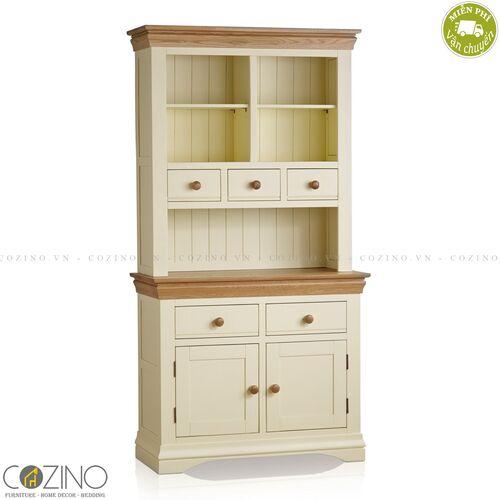Tủ bếp nhỏ Canary gỗ sồi Mỹ- đẹp, giá rẻ tại hcm và hà nội