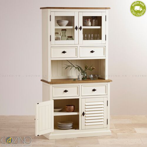 Tủ bếp nhỏ Chillon gỗ sồi Mỹ- đẹp, giá rẻ tại hcm và hà nội