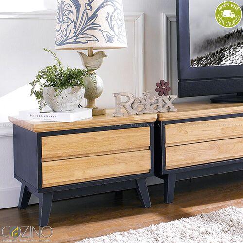 Tủ tivi Lantana gỗ cao su- đẹp, giá rẻ tại hcm và hà nội