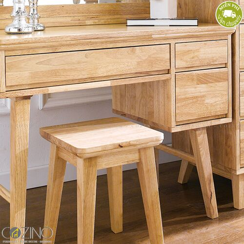 Bộ bàn trang điểm IXORA gỗ cao su- đẹp, giá rẻ tại hcm và hà nội