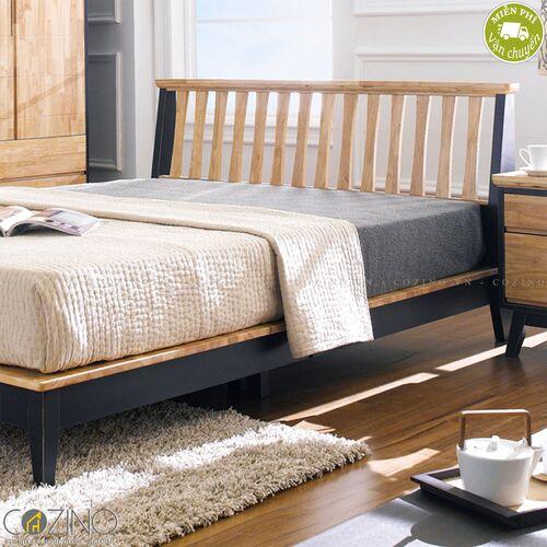 Giường Lantana 100% gỗ cao su (nhiều kích thước)- đẹp, giá rẻ tại hcm và hà nội