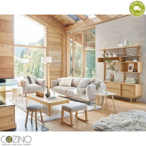 Bàn sofa Sunberry gỗ tự nhiên- đẹp, giá rẻ tại hcm và hà nội