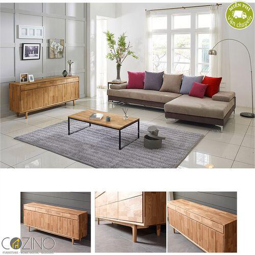 Tủ trưng bày lưu trữ Calla B gỗ cao su 1m8- đẹp, giá rẻ tại hcm và hà nội