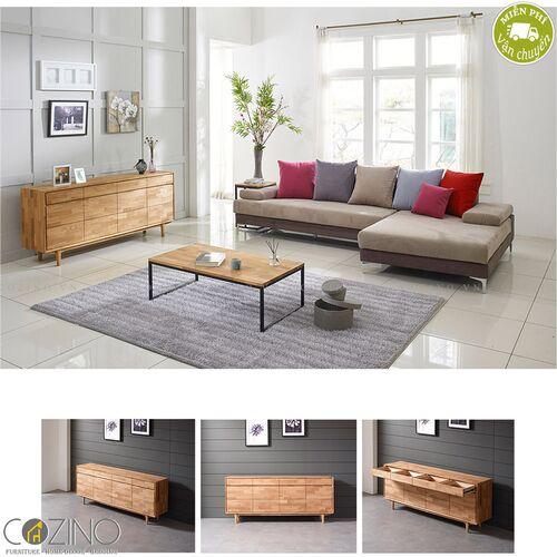 Tủ trưng bày lưu trữ Calla A gỗ cao su- đẹp, giá rẻ tại hcm và hà nội