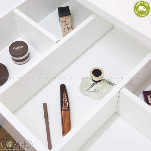 Bàn trang điểm Mari gỗ cao su- đẹp, giá rẻ tại hcm và hà nội