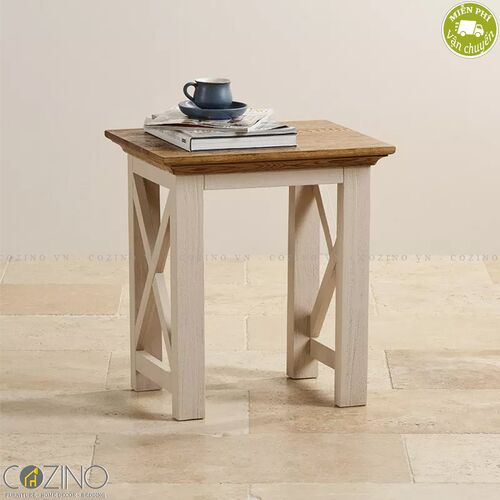 Ghế đôn bàn trang điểm Sark 100% gỗ sồi mỹ- đẹp, giá rẻ tại hcm và hà nội