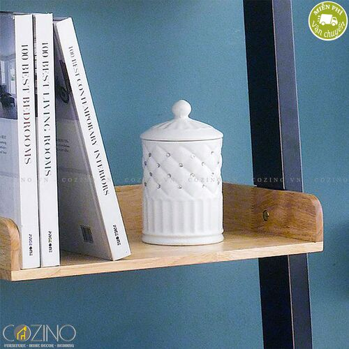 Kệ sách và trưng bày Lantana hình thang 6 tầng- đẹp, giá rẻ tại hcm và hà nội