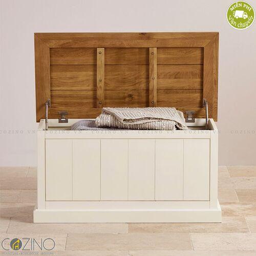Rương Chillon gỗ sồi Mỹ- đẹp, giá rẻ tại hcm và hà nội
