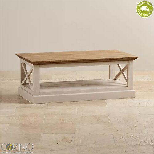 Bàn sofa Sark gỗ sồi Mỹ- đẹp, giá rẻ tại hcm và hà nội