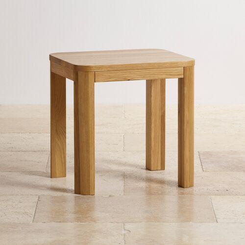 Ghế đôn bàn trang điểm Emley 100% gỗ sồi Mỹ- đẹp, giá rẻ tại hcm và hà nội