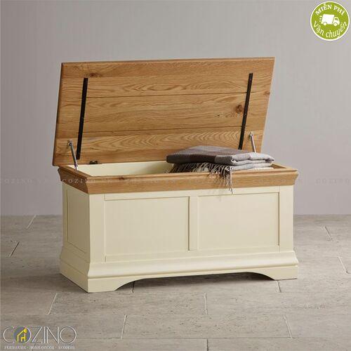 Rương Canary gỗ sồi Mỹ- đẹp, giá rẻ tại hcm và hà nội