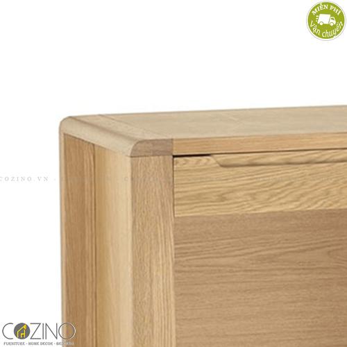 Bàn làm việc Chain tủ 3 ngăn gỗ sồi Mỹ- đẹp, giá rẻ tại hcm và hà nội