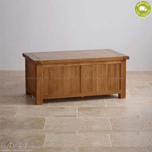 Rương Original Rustic gỗ sồi mỹ- đẹp, giá rẻ tại hcm và hà nội