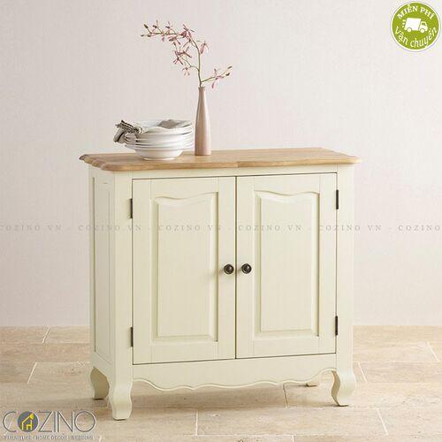 Tủ chén nhỏ Skye gỗ sồi Mỹ- đẹp, giá rẻ tại hcm và hà nội