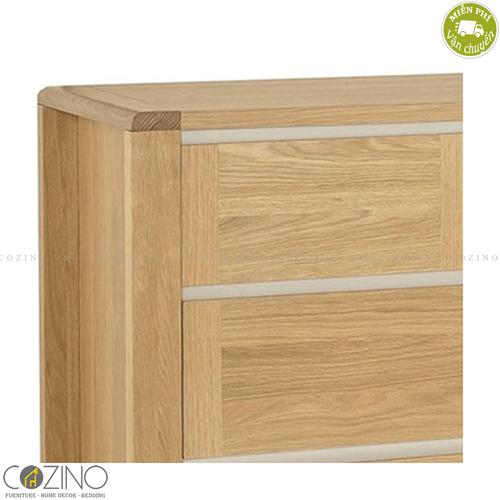 Tủ 4 ngăn kéo Chain gỗ sồi Mỹ- đẹp, giá rẻ tại hcm và hà nội