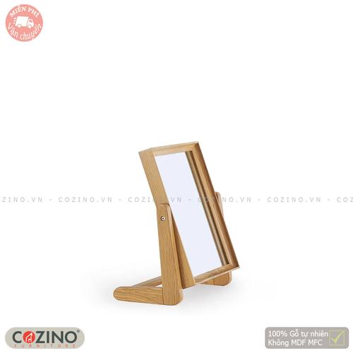 Gương để bàn Spot gỗ sồi Mỹ- đẹp, giá rẻ tại hcm và hà nội